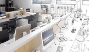 agencement de bureau : un projet à concevoir