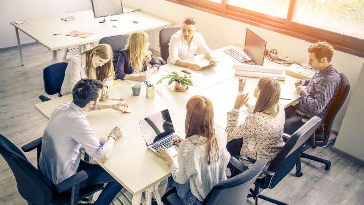 étude d'implantation et préconisation d'agencement de bureau par Adexgroup