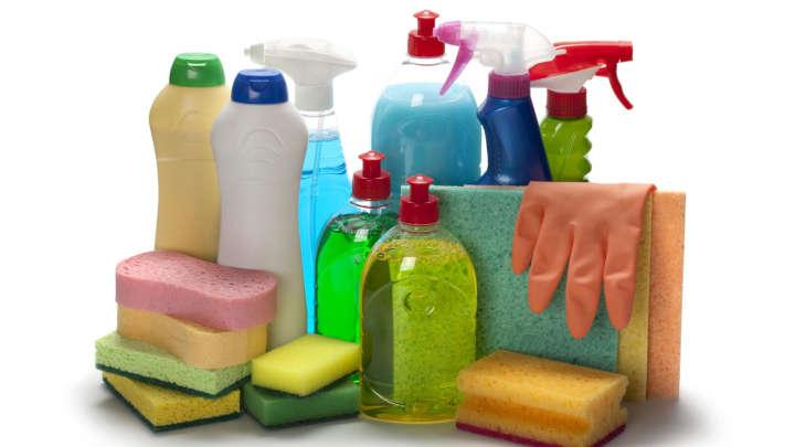 Produits d'entretien et d'hygiène et collecte des déchets