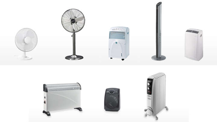 SG ventillateurs chauffages