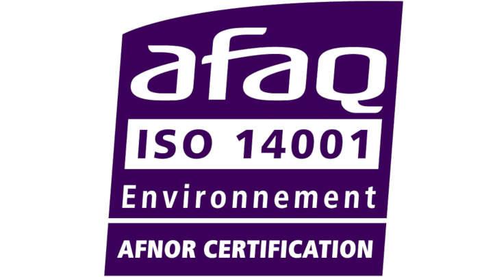 Logo certification Afaq_14001