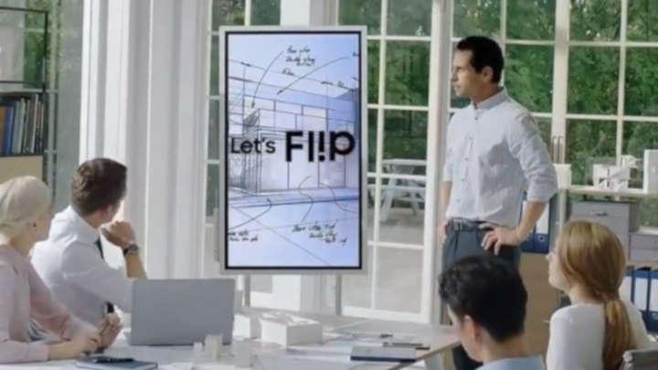 Flip Samsung - paperboard digitall