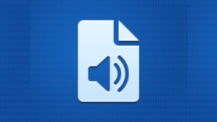 Logo app audio to doc