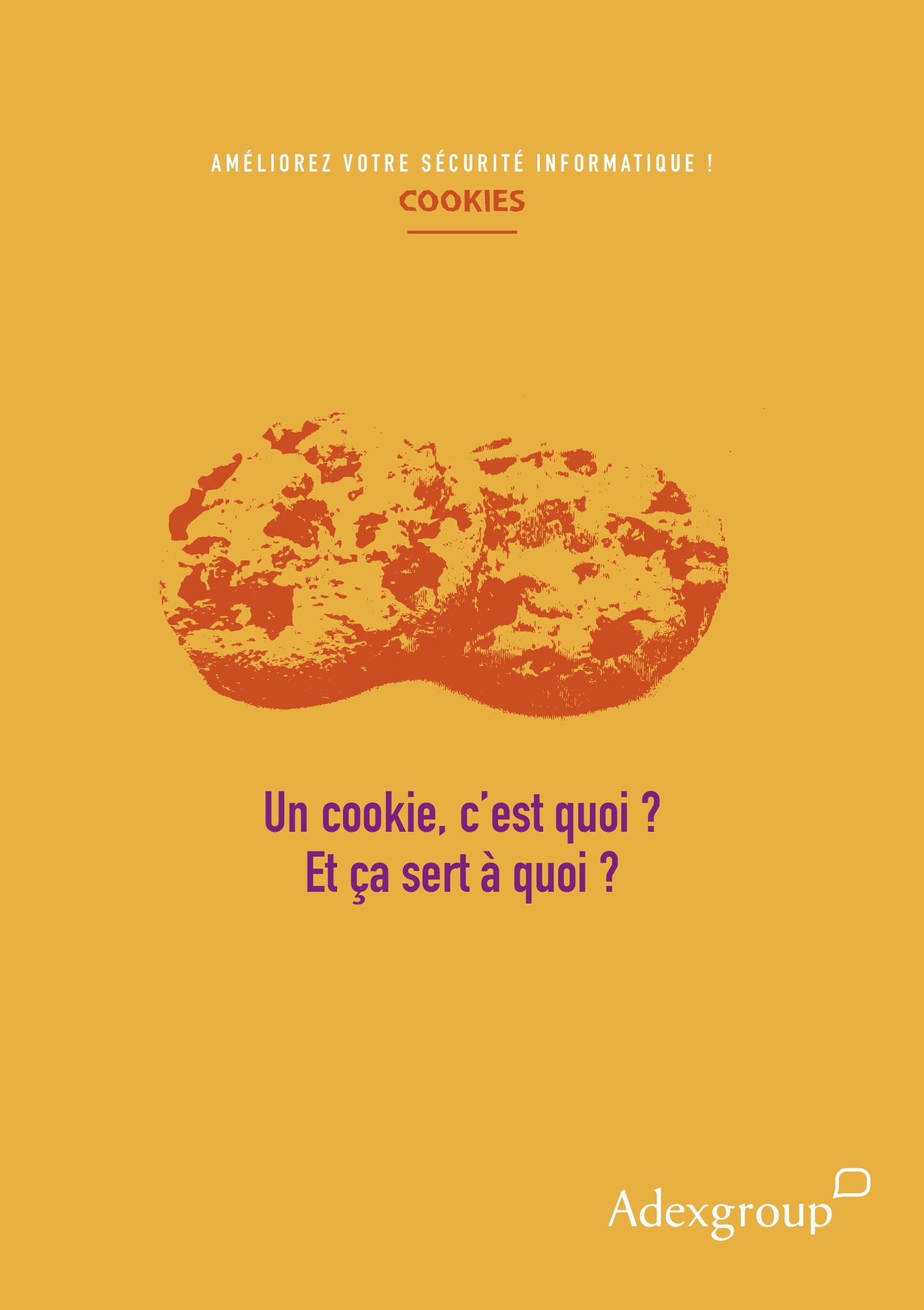 Affiche sur les cookies